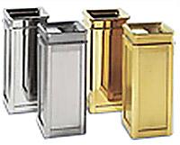 Plastic, Metal & Fiberglass Waste Bins, Recycle Containers, Indoor ...